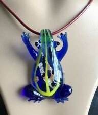 new frog colors blown lampwork murano glass pendants jewelry  for Necklace