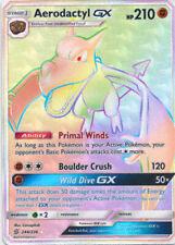 Aerodactyl GX - 244/236 - Secret Rare - Sun & Moon: Unified Minds - Pokemon TCG