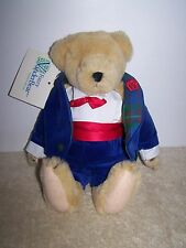Vintage 1986 North American Bear Co. Fuzzy Vanderbear Holiday Collection