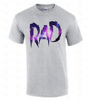 RAD Galaxy Men's T-SHIRT Fashion Swag Funny Radical Tee Space Astro 80's