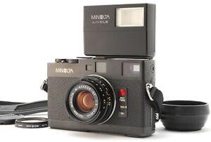 【MINT】 Minolta CLE Rangefinder camera + M-Rokkor 40mm f/2 Flash From JAPAN #1052