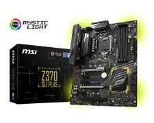 MSI Gaming Desktop PC Intel LGA 1151 Z370 SLI Plus M.2 RGB ATX Motherboard