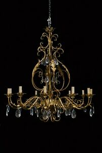12 Branch continental style chandelier