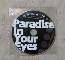 "CD AUDIO / CASINO INC ""PARADISE IN YOUR EYES"" CD 2 TRACKS 2007  PLASTIC SLEEVE"