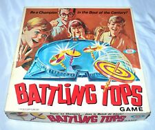 Vintage 1968 Family Game BATTLING TOPS IDEAL NO. 2340-8 Canada Choose Your Part