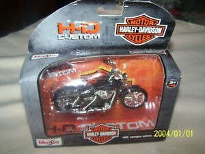 2006 Dyna Street Bob (Harley Davidson) Maisto 1/18 Scale Diecast Motorcycle