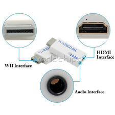 PRO Wii to HDMI Wii2HDMI Full HD FHD Converter Adapter With 3.5mm Audio Out 2017
