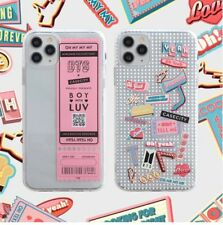 Pangram BTS Hypebeast iPhone Case 11 Pro Max XR XS SE2 8 7 Impact Clear
