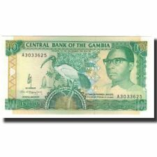 [#591262] Billet, The Gambia, 10 Dalasis, Undated (1991-95), KM:13a, NEUF