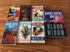 Lot of 7 Doc Ford Mysteries by Randy Wayne White, Black Widow Captiva Sanibel