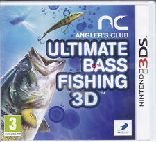 Nintendo 2DS~3DS «ANGLERS CLUB: ULTIMATE BASS FISHING 3D» nuovo sigillato