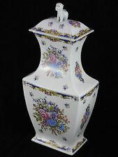 Rare et spectaculaire grand vase chien de FO porcelaine de Limoges XX RÉF/CA
