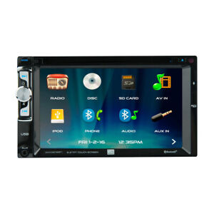 """DUAL XDVD276BT 6.2"""" LED BACKLIT TOUCHSCREEN BLUETOOTH MULTIMEDIA DVD RECEIVER"""