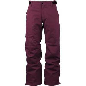 🆕  686 Mens Defender Insulated Snowboard Cargo Pants KCR938A Wine (NWT, Sz: XS)