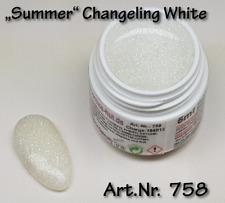 5 ml  UV Exclusiv Farbgel Changeling White Gel Nr.758