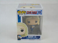 Marvel Civil War Captain America Agent 13 131 Funko POP Figure