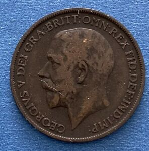 George V  1912 One Penny (1822)
