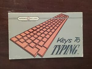 """Vintage Commodore Keys to Typing """"Batteries Included"""" Company Manual 1986"""