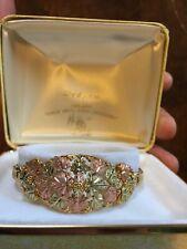 Landstroms 10k Black Hills Gold Bracelet Massive Vintage Excellent Solid Gold