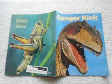Ranger Rick Magazine-MARCH,1990-ALLOSAURUS DINOSAUR
