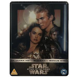 Star Wars: Episode II - Attack of the Clones 4K Steelbook -  Limited Edition Blu