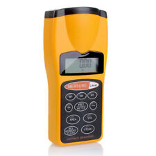 Electronic Ultrasonic Measure Distance Meter With Laser Pointer LCD Measure Tape