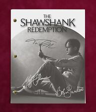"SHAWSHANK REDEMPTION MOVIE SCRIPT WITH REPRODUCTION SIGNATURES Freeman ""C3"""
