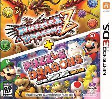 Puzzle & Dragons Z + Puzzle & Dragons -- Super Mario Bros. Edition -Nintendo 3ds