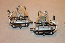 NO RESERVE Pedali Campagnolo 4021 Super Record pedals set titanium axel LIKE NEW