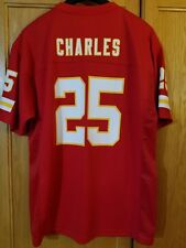 c0730e29f Jamaal Charles KANSAS CITY CHIEFS  25 NFL Players Football Jersey YOUTH XL