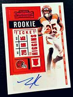 2020 Contenders TEE HIGGINS Rookie Ticket Red SSP Auto RC #'d 01/23 * BENGALS