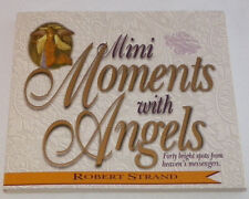 Mini Moments with Angels by Robert Strand, Christian Gift Book With Bible Verses