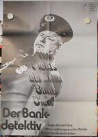 DER BANKDETEKTIV Filmplakat Poster W.C. FIELDS  THE BANK DICK