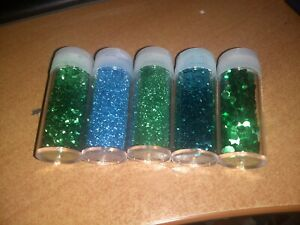 100 GSM GLITTERS FOR SCRAPBOOKING NEW GREEN/BLUE  (GLITTERS776)