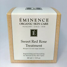 NEW PACKAGING!!! Eminence Organic Sweet Red Rose Treatment 60ml /2oz