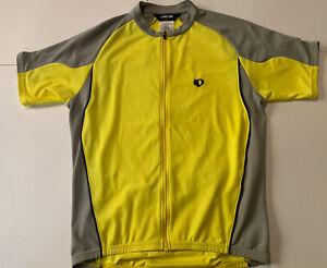 Pearl Izumi Ultra Sensor Series Men's Full Zip  Cycling Jersey -sz Large Yellow