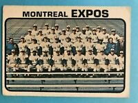 1973 TOPPS MONTREAL EXPOS TEAM CARD #576