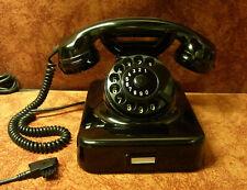 W48  Telefon Bakelit 9.1990  Manufaktum  Nachbau  Fernsprecher Top! WIE NEU!