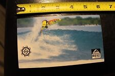 "Reef Brazil ocean surf air sandal beach wave ~6"" Vintage Surfing Decal Sticker"