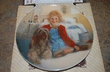 """Knowles Collector'S Plate """"Annie And Sandy"""" First Issue 1982 -Nib & Coa"""