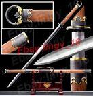 Rose Wood Chinese Tang Dynasty Saber Jian Sharp Folded Steel Handmade Dao Sword