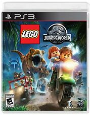 LEGO Jurassic World Sony PlayStation 3 Video Game PS3 KIDS NEW Free Shipping