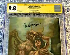 Vampirella #1 CGC 9.8 Signed by Lucio Parrillo Exclusive Virgin Variant 1 of 500