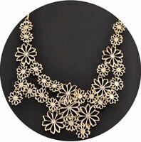 Damenkette Hals Kette Spikekette Halskette Statementkette Vintage Necklace O2533