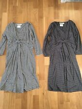 JoJo Maman Bebe Maternity Gathered Dress/Top, Size XS-S, UK6/8,RRP £39 BNWT