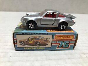VINTAGE MATCHBOX 1978 3 PORSCHE TURBO CAR