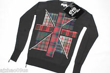 New eYe COMME des GARCONS x JOHN SMEDLEY UK Mens Pullover Sweater 100%AUT RARE S