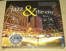 JAZZ & THE CITY 4 CD PLATINUM EDITION Sealed! Poland
