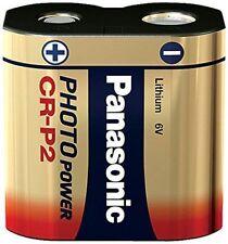 Panasonic CRP2 6V Lithium Battery (CR-P2, CRP2P, CRP2S, DL223A, EL223AP, KCRP2A)