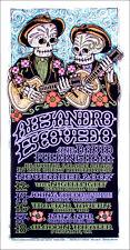 Alejandro Escovedo Poster David Pulkingham Signed Silkscreen Gary Houston